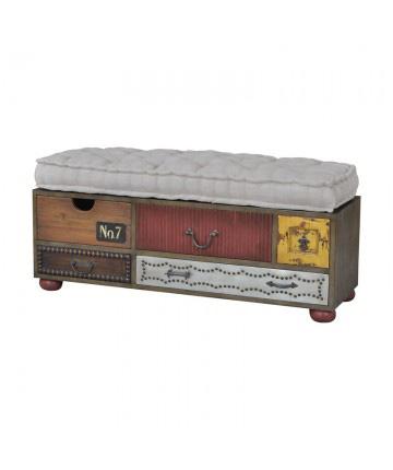 Guildmaster - Mosaic Treasures Bench - 6515507