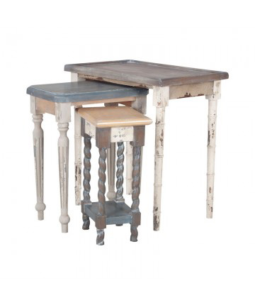 Guildmaster - Artifacts Nesting Tables - Set Of 3 - 7115539S