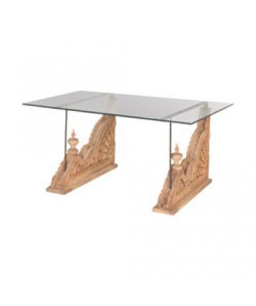 Guildmaster - Carved Corbel Desk - 7150196HO-1