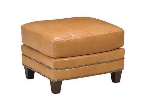 Chaddock - Leather Redondo Ottoman - L-0601-0