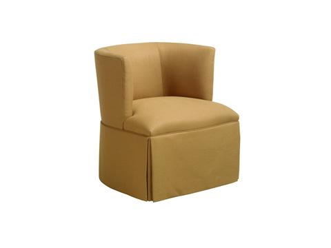 Chaddock - Petite Barrel Back Swivel Chair - U0515-1