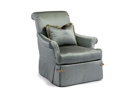 Chaddock - Sleigh Swivel Chair - U0770-1