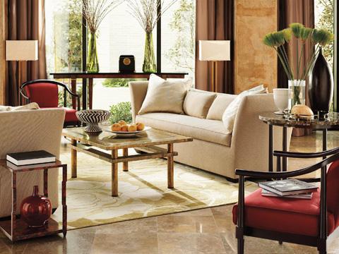 Henredon - Madeline Bench Seat Short Sofa - H0764-B