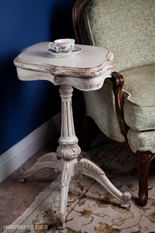 Image of Pedestal Side Table