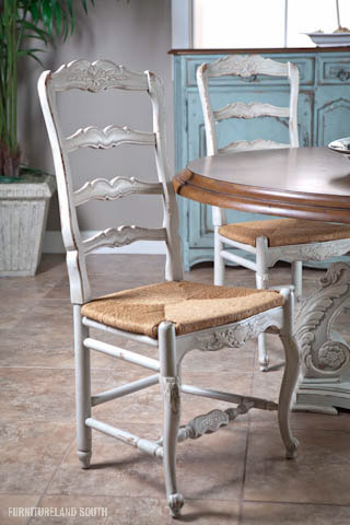 Image of New Country Ladder Back Side Chair