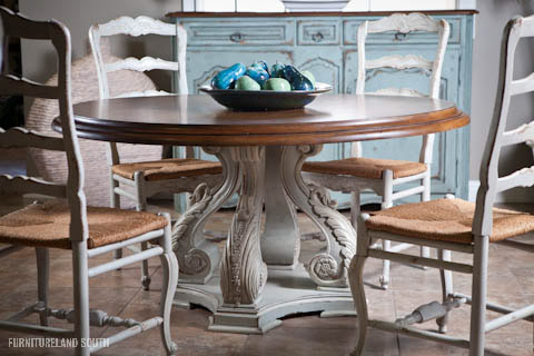 Image of Round Valencia Dining Table