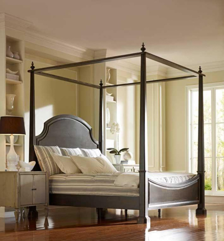Image of Sea Island Poster Canopy Bed