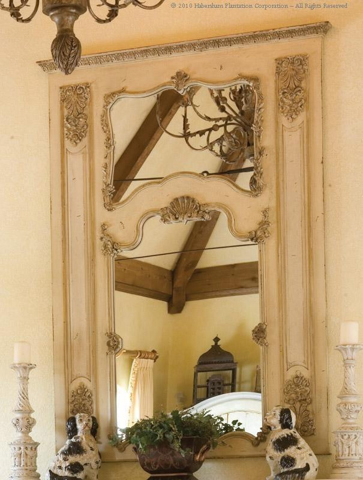 Habersham - Double Mirror Trumeau - 04-4041