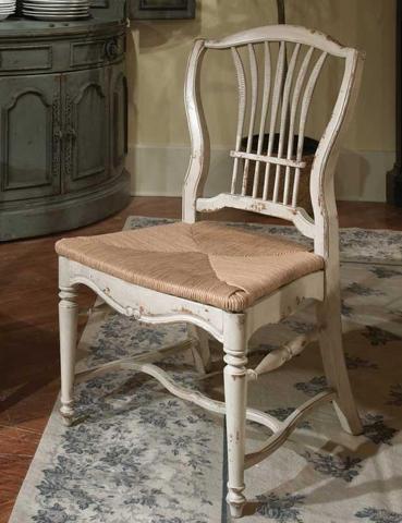 Habersham - Wheat Rush Seat Side Chair - 43-2200