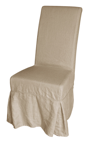 GJ Styles - Slip Covered Dining Chair with Bow Detail - LD10