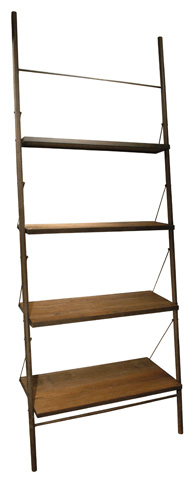 GJ Styles - Angled Wall Shelf in Elm - CS13