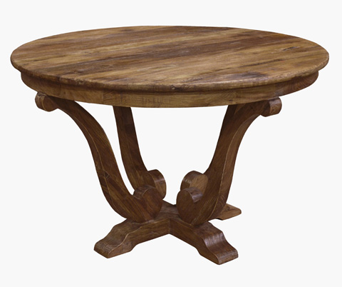 GJ Styles - Old Elm Breakfast Table - CS61