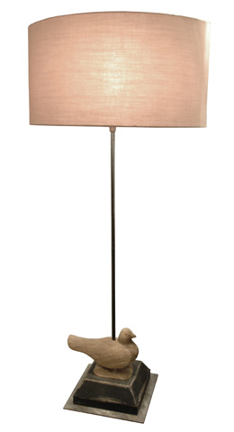 GJ Styles - Mont De Marsan Lamp with Shade - DF05
