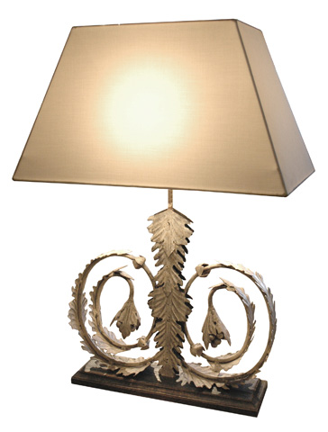 GJ Styles - Toulouse Lamp with Shade - DF14