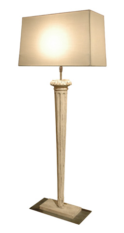 GJ Styles - Conique Lamp with Shade - DF17