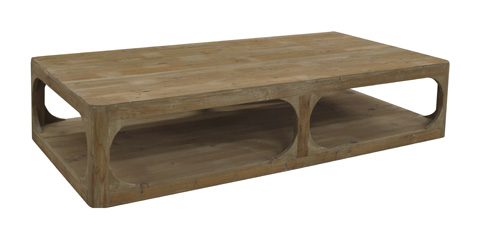 GJ Styles - Rectangle Coffee Table in Washed Pine - LD115-OL