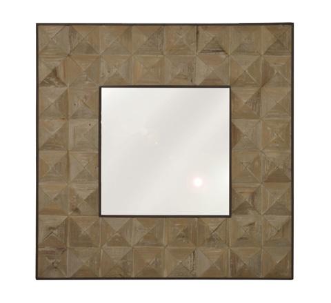 GJ Styles - Medium Pine Diamond Cut Mirror - LD120-OL