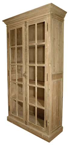GJ Styles - Reclaimed Pine Two Door Bookcase - LD44-OL