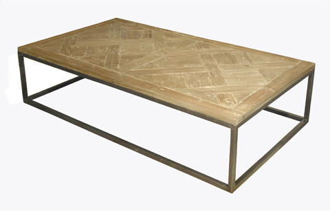 GJ Styles - Old Pine Coffee Table in Washed Finish - LD59-OL