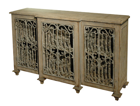 GJ Styles - Sideboard with Fretwork - RA10