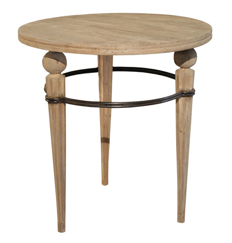 GJ Styles - Round Side Table with Three Legs - SN265