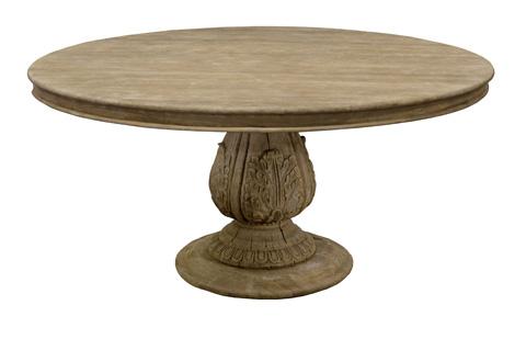 GJ Styles - York Pedestal Dining Table in Pine - SN459