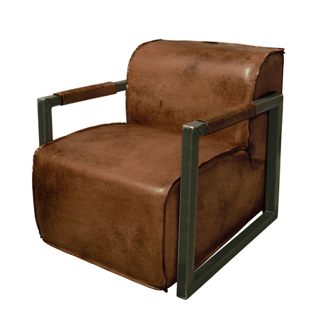 GJ Styles - Mica Arm Chair in Light Brown Buffalo - TR04