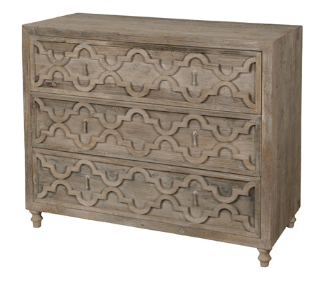 Image of Three Drawer Chest