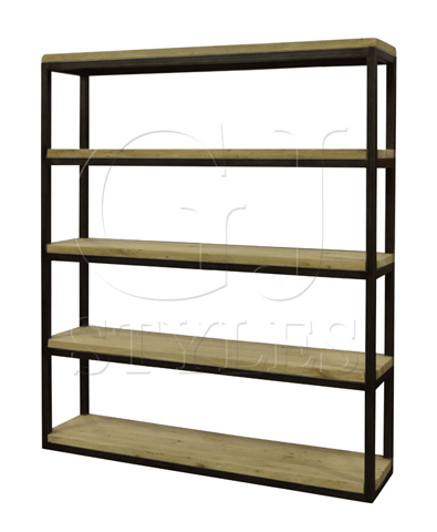 GJ Styles - Sandshore Double Bookcase - HF348