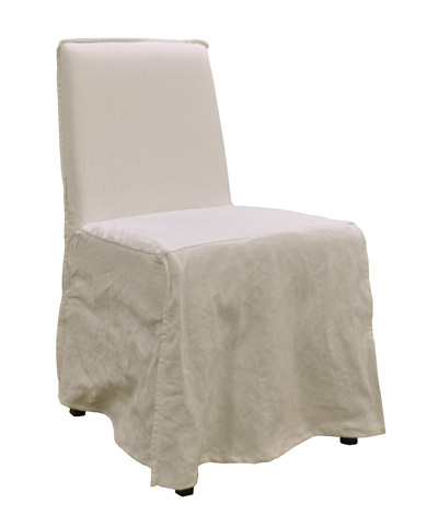 GJ Styles - Downey Chair in Stonewashed Canvas White - KS354