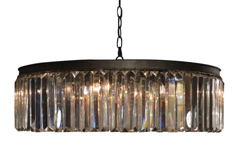 GJ Styles - Optic Crystal Circular Chandelier-Large - RL03