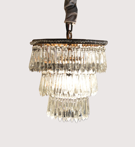 GJ Styles - Tapered Crystal Chandelier-Small - SN533