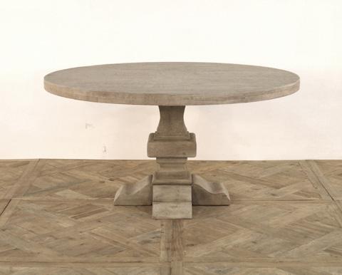 GJ Styles - Paris Round Dining Table in Pine - TR43