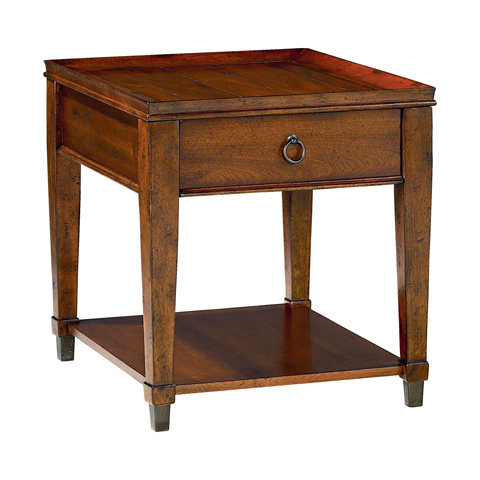 Hammary - Rectangular Drawer End Table - 197-915