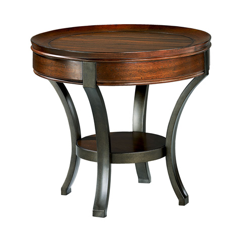 Hammary - Round End Table - 197-917