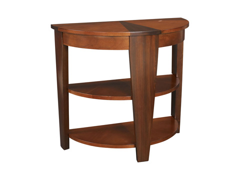 Image of Demilune End Table