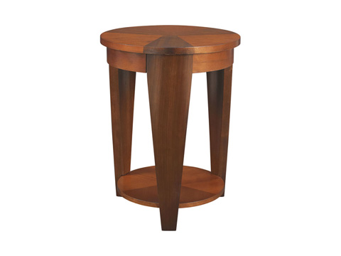 Image of Round Chair Side Table