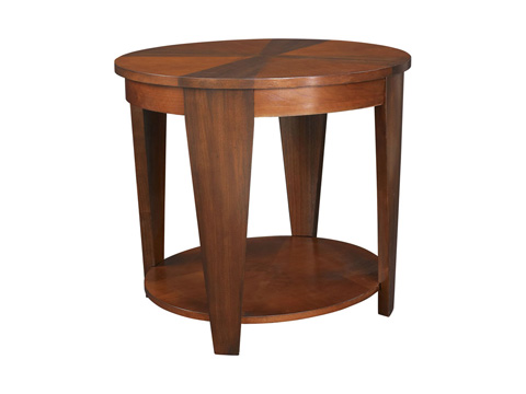 Hammary Furniture - Oval End Table - T2003436-00