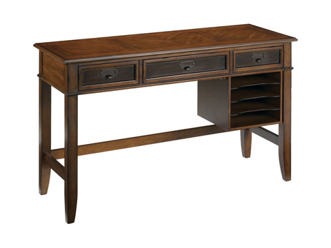 Image of Mercantile Three Drawer Writing Desk
