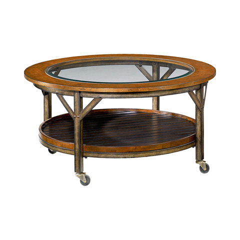 Image of Mercantile Round Cocktail Table