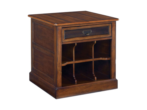Image of Mercantile Rectangular Storage End Table