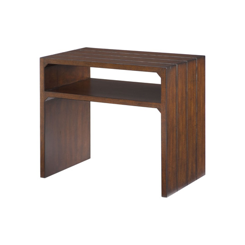 Image of Flipping End Table
