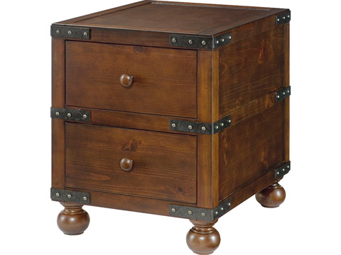 Hammary Furniture - Trunk End Table - 090-521