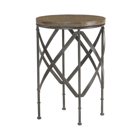 Hammary Furniture - Round Metal Table - 090-716