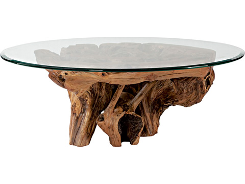 Hammary Furniture - Root Ball Cocktail Table - 090-555B/T