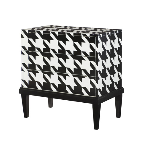 Hammary - Hounds Tooth Accent Cabinet - 090-747