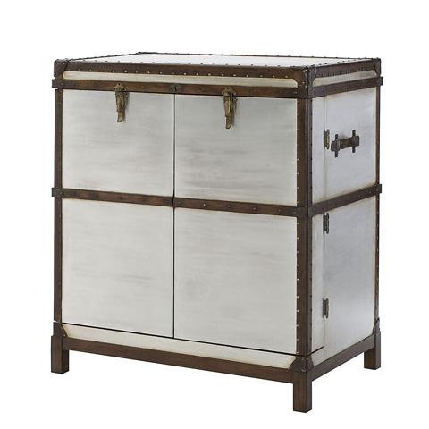 Image of Metal Bar Cabinet