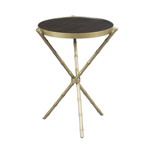 Hammary Furniture - Metal Bamboo Accent Table - 090-802