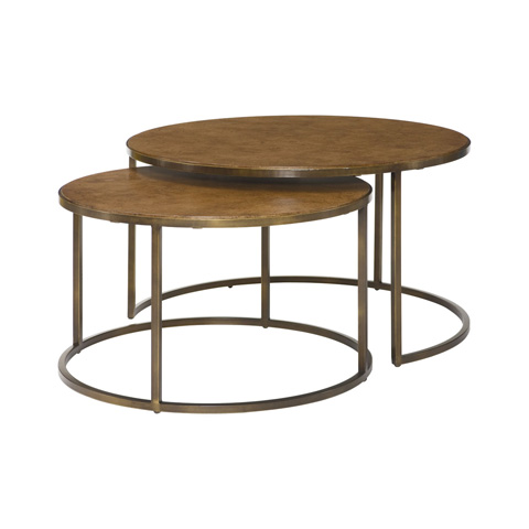 Hammary Furniture - Round Nesting Cocktail Table - 376-911