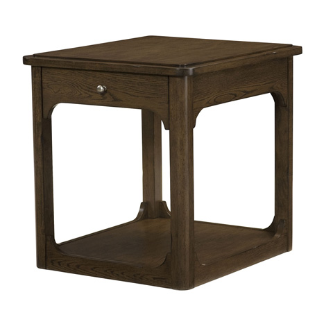 Hammary - Rectangular Drawer End Table - 438-915